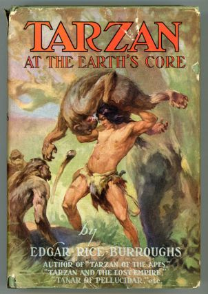 TARZAN AT THE EARTH'S CORE ...