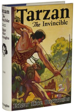 TARZAN THE INVINCIBLE. Edgar Rice Burroughs