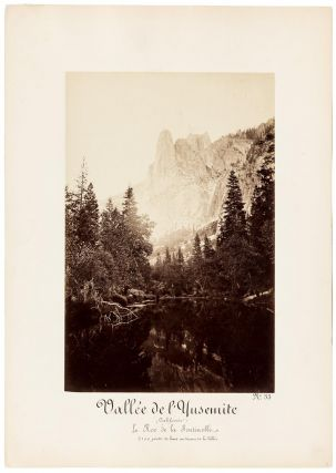 Yosemite Valley] Sentinel Rock, Yosemite Valley, California. [titled in French] Vallée de...