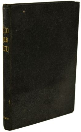 NEQUA OR THE PROBLEM OF THE AGES by Jack Adams [pseudonym]. Alcanoan O. Grigsby, Mary P. Lowe,...