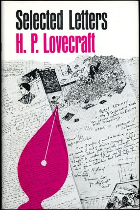 SELECTED LETTERS 1925-1929. Lovecraft.