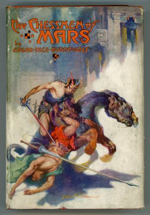THE CHESSMEN OF MARS. Edgar Rice Burroughs