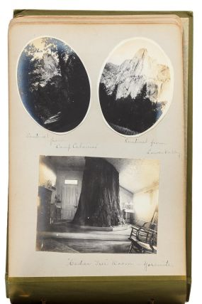 Yosemite Valley] Album of photographs recording a vacation in Yosemite and later trips and...