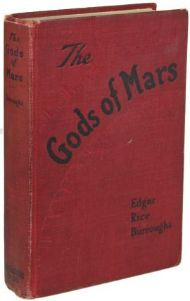 THE GODS OF MARS. Edgar Rice Burroughs