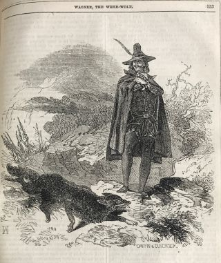 WAGNER, THE WEHR-WOLF. A ROMANCE ...