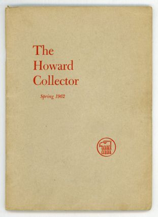 THE. Spring 1962 . HOWARD COLLECTOR, Glenn Lord, number 2 [whole number 2 volume 1