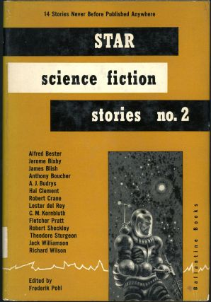 STAR SCIENCE FICTION STORIES NO. 2. Frederik Pohl