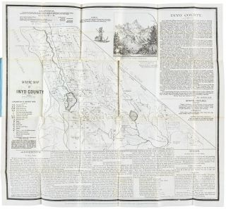 Mining map of Inyo County. Scale 12 miles to an inch [caption title].