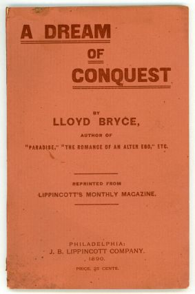 A DREAM OF CONQUEST. Lloyd Bryce