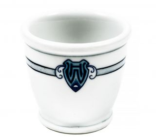 China egg cup from the Wawona Hotel, Yosemite, California. WAWONA HOTEL
