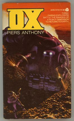 OX. Piers Anthony, Piers Anthony Dillingham Jacob