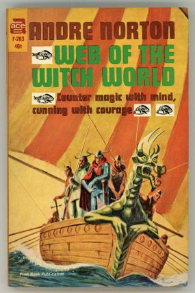 WEB OF THE WITCH WORLD. Andre Norton.