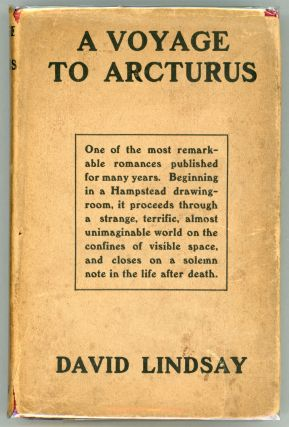 A VOYAGE TO ARCTURUS.