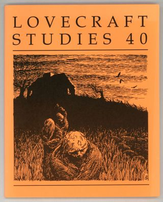 LOVECRAFT STUDIES. Fall 1998 ., S. T. Joshi, number 40