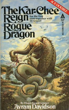 THE KAR-CHEE REIGN [and] ROGUE DRAGON. Avram Davidson