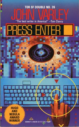 PRESS ENTER. John Varley