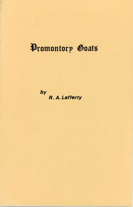 PROMONTORY GOATS. Lafferty
