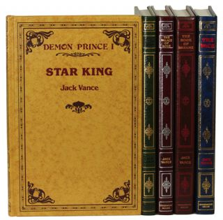 THE DEMON PRINCE SERIES: THE STAR KING, THE KILLING MACHINE, THE PALACE OF LOVE, THE FACE and THE...