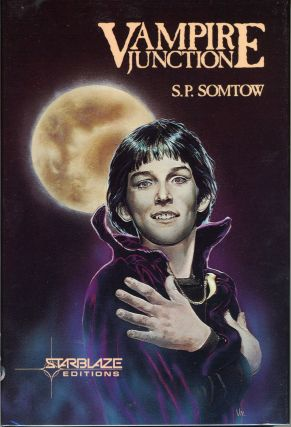 "VAMPIRE JUNCTION by S. P. Somtow [pseudonym]. Somtow Sucharitkul, ""S. P. Somtow."""