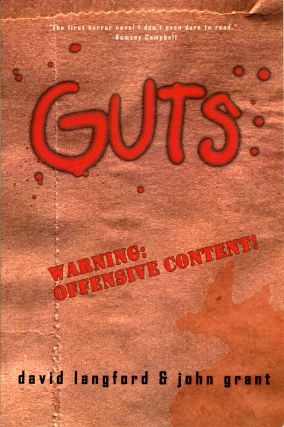 GUTS: A COMEDY OF MANNERS. David Langford, John Grant