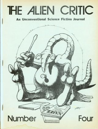 THE. September 1972-January 1973 . ALIEN CRITIC, Richard E. Geis, number 1 volume 2, whole number 4