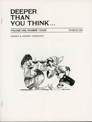 DEEPER THAN YOU THINK. March 1969 ., Joel Frieman, number 3 volume 1
