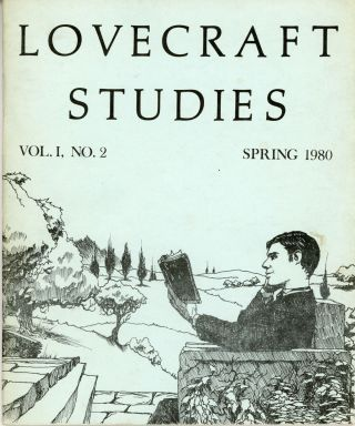 LOVECRAFT STUDIES. Spring 1980 ., S. T. Joshi, number 2