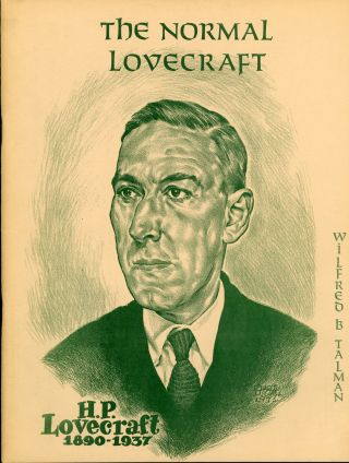 THE NORMAL LOVECRAFT. Howard Phillips Lovecraft, Gerry De la Ree
