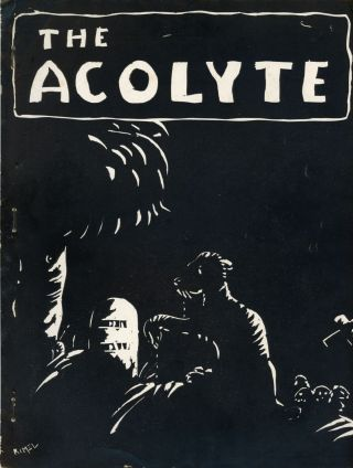 THE. Spring 1943 . ACOLYTE, Francis T. Laney, number 3 volume 1