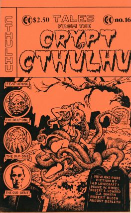 Howard Phillips Lovecraft, number 8-Volume 17 volume 2, whole numbers, number 1, gaps, CRYPT OF...