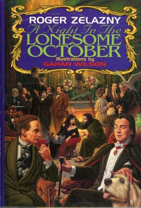 A NIGHT IN THE LONESOME OCTOBER. Roger Zelazny