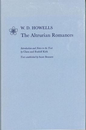 THE ALTRURIAN ROMANCES. Introduction and Notes to the Text by Clara and Rudolf Kirk. Text...
