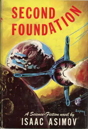 SECOND FOUNDATION. Isaac Asimov