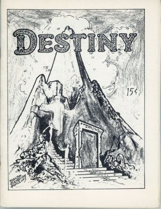 DESTINY. Fall 1950 ., Malcolm Willits, Jim Bradley, number 2 volume 1