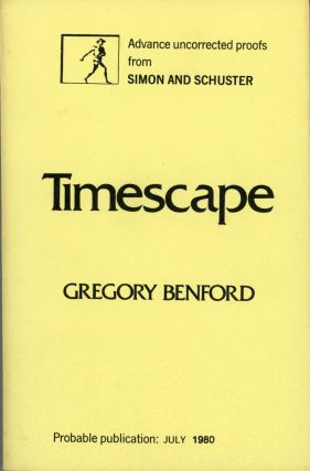 TIMESCAPE. Gregory Benford