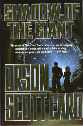 SHADOW OF THE GIANT. Orson Scott Card