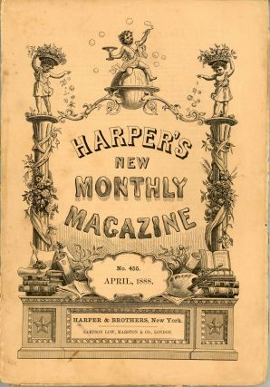 """Chita: A Memory of Last Island."" In: HARPER'S NEW MONTHLY MAGAZINE. April 1888 (volume 76,..."
