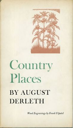 COUNTRY PLACES. August Derleth