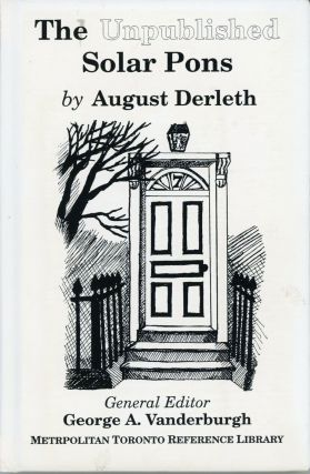 THE UNPUBLISHED SOLAR PONS. August Derleth