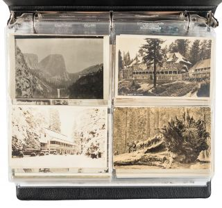 Yosemite Valley, High Sierra and Big Trees postcards. CAMP CURRY STUDIO BOYSEN STUDIO, WESTERN...