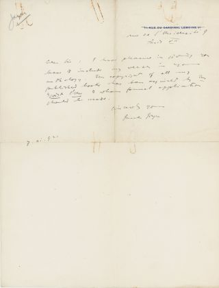 THE J. M. DENT AND SONS RIGHTS AND PERMISSIONS ARCHIVE: A SAMPLER OF LETTERS FROM A WIDE SELECTION OF MAJOR TWENTIETH CENTURY BRITISH LITERARY AND POPULAR FICTION WRITERS.