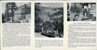 Glacier Point Hotel on the rim of Yosemite Valley [cover title].