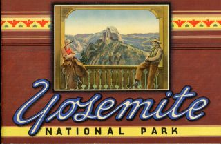 Yosemite National Park ... [caption title]. WESTERN PUBLISHING AND NOVELTY COMPANY