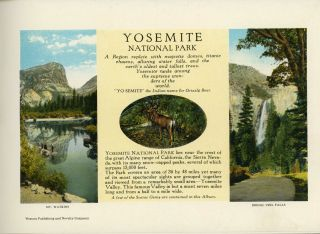 Yosemite National Park ... [caption title].