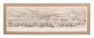 Exterior of the Crystal Palace Erected in Hyde Park for the Exhibition of the Industry of All...