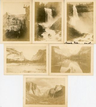 12 real photographs of Yosemite Valley [title supplied].