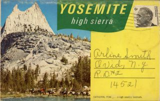Yosemite High Sierra ... [folder title]. 5 ASSOCIATES