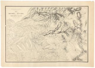 Map of a portion of the Sierra Nevada adjacent to the Yosemite Valley from surveys made by Chs....