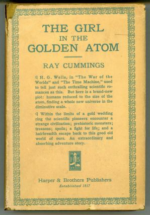 THE GIRL IN THE GOLDEN ATOM. Ra Cummings