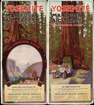 "Yosemite Mariposa Big Trees ""The Horseshoe Route"" ... Make all arrangements for this trip thru..."